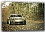 Nissan 350z Sports Car Canvas. Sizes: A4/A3/A2/A1 (001473)